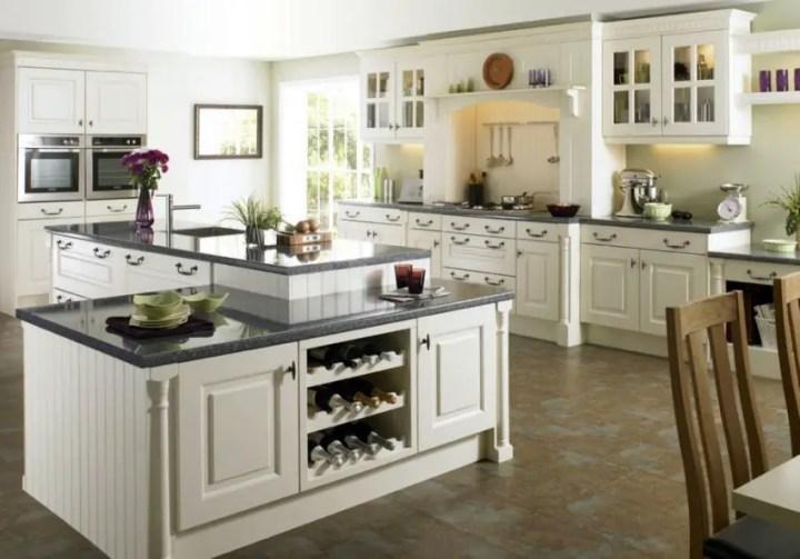 mobila de bucatarie din lemn masiv Solid wood kitchen cabinets 4