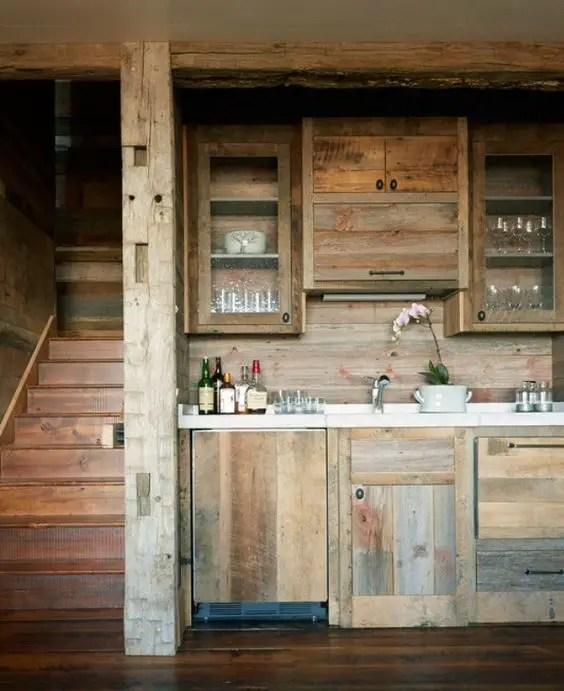 mobila de bucatarie din lemn masiv Solid wood kitchen cabinets 5