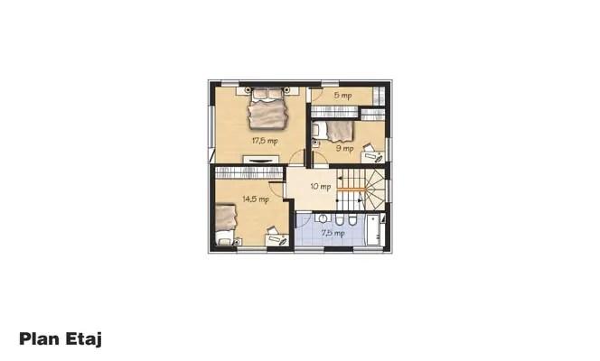proiecte de case cu piatra de rau Houses with river stone veneer 7