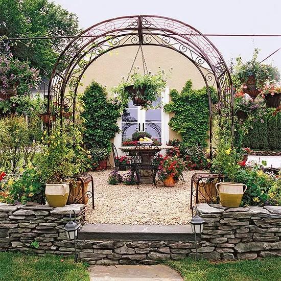Idei pentru amenajarea unei gradini de 50 de metri patrati 50 square meter garden design ideas 10