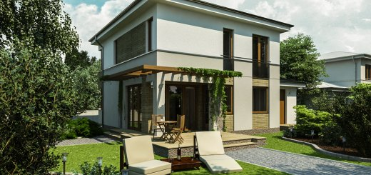 Case moderne pana in 200 de metri patrati