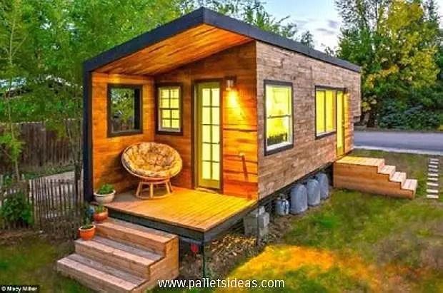 case construite din paleti