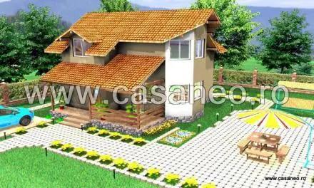 Case din panouri termoizolante - arhitectura mai dinamica