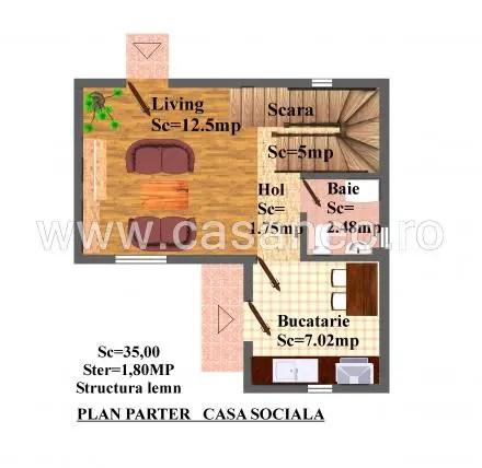 case din panouri termoizolante Sandwich panel homes 6
