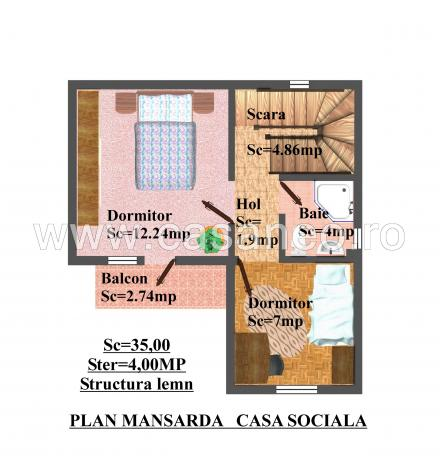 case din panouri termoizolante Sandwich panel homes 7