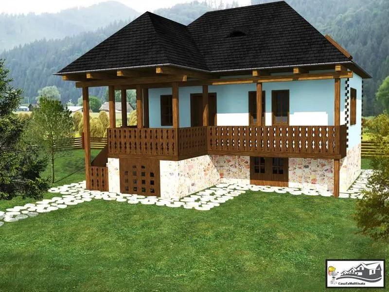 case taranesti peasant houses 11