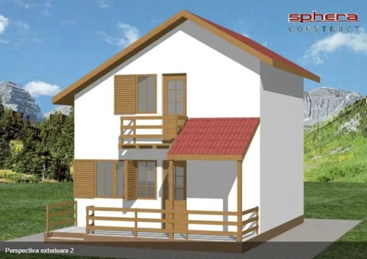 proiecte de case de 70 de metri patrati 70 square meter house plans 2