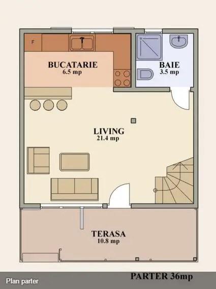 Proiecte de case de 70 de metri patrati spatii for 70 square meter modern house design