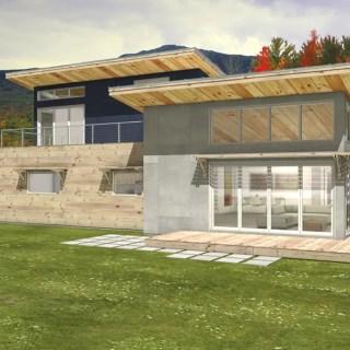 Idei de case moderne FOTO: Houseplans.com