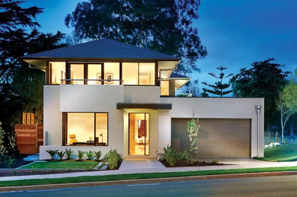 Idei de case moderne cu etaj FOTO: Houseplane.com