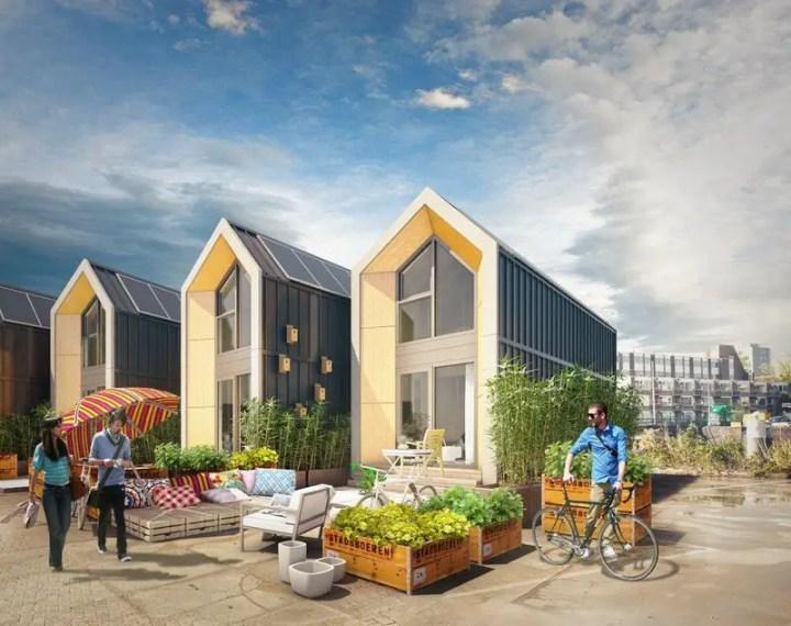 Casa care se construieste in 24 ore - modelul olandez