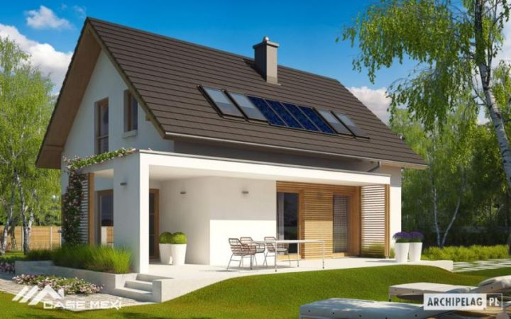 Case pe structura metalica - proiecte diferite