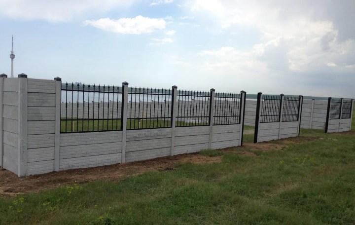 garduri din placi de beton precast concrete fences 6