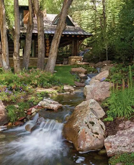 15 Superb Mountain Garden Landscaping Ideas - Houz Buzz on Mountain Backyard Ideas id=51332