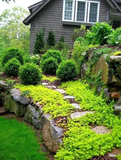 gradini amenajate ca la munte Mountain garden landscaping ideas 13