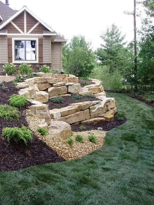 15 Superb Mountain Garden Landscaping Ideas - Houz Buzz on Mountain Backyard Ideas id=51823