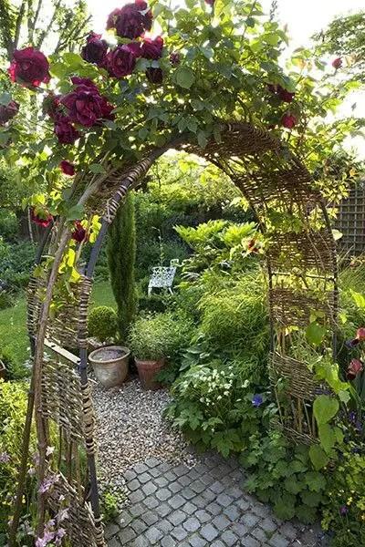 gradini cu arcade garden arches design ideas 6