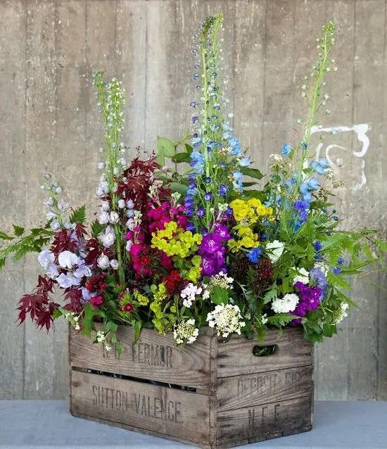 gradini rustice cu flori Rustic flower gardens 13