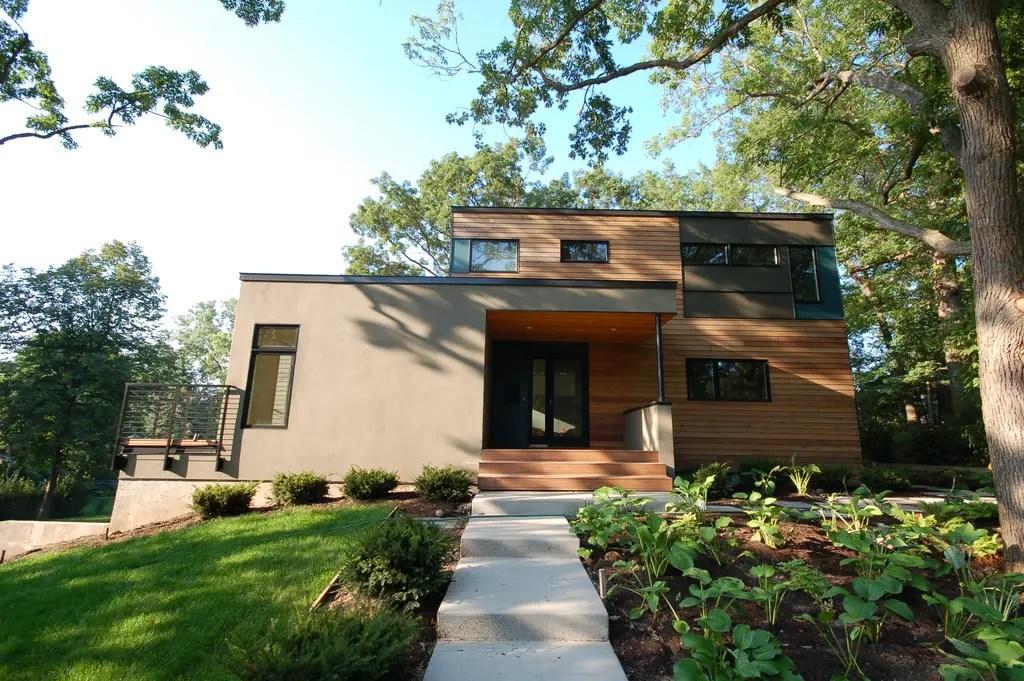 idei de case moderne cu etaj