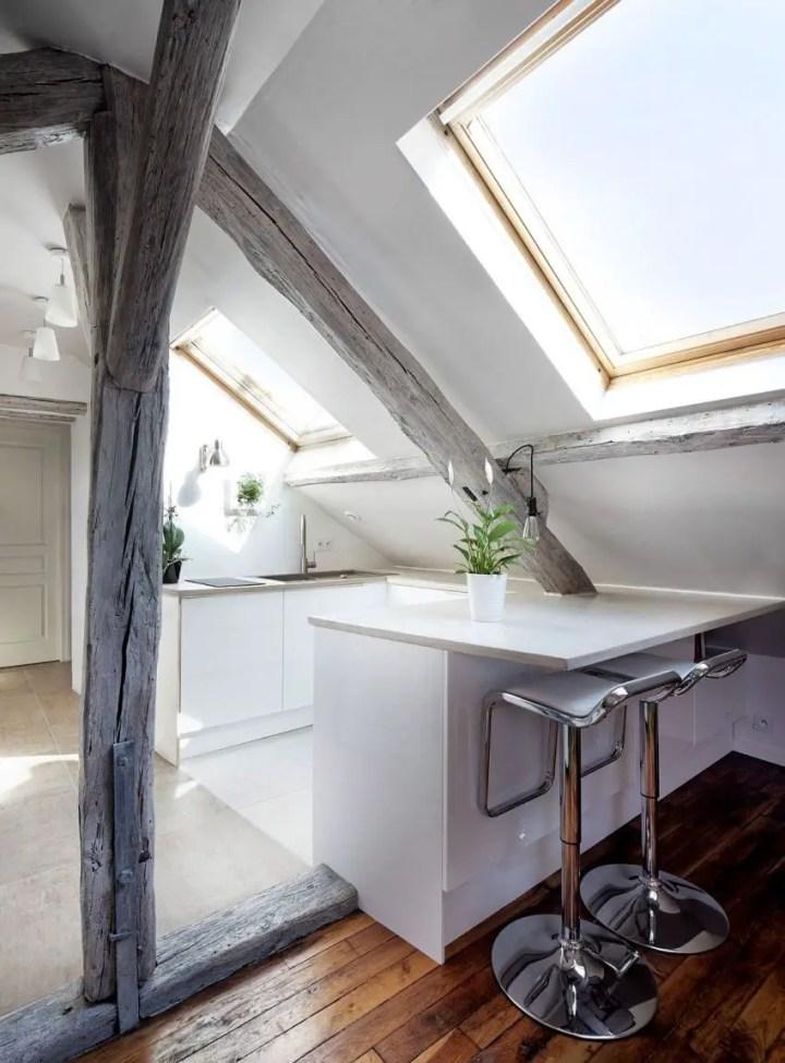 mansarda rustica the rustic attic 5