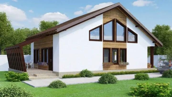 proiecte de case cu etaj mansardat attic house plans 10