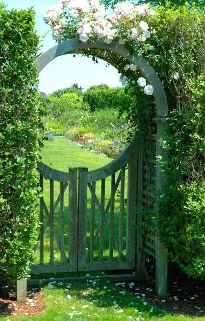 arcade de gradina din lemn garden wood arches 10