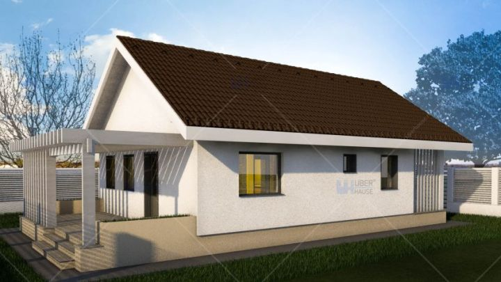 case cu doua camere two room house plans 9