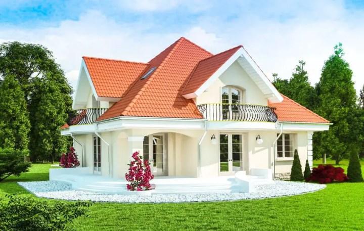 Case cu mansarda - proiecte diferite, toate la fel de elegante si frumoase