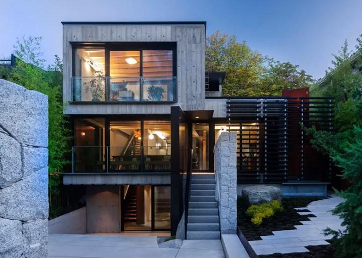 case din placi de beton Precast concrete houses 11