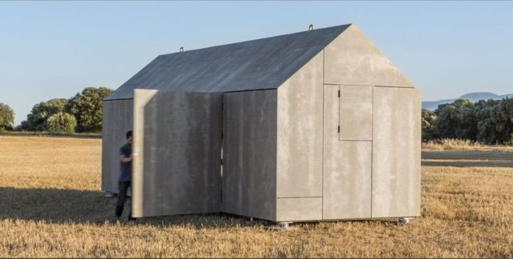 case din placi de beton Precast concrete houses 3