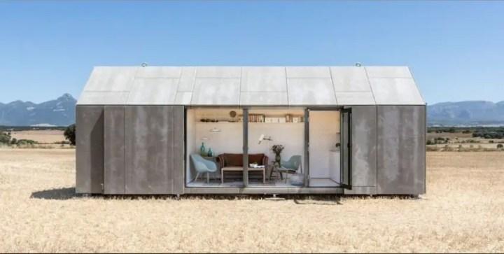 case din placi de beton Precast concrete houses 4
