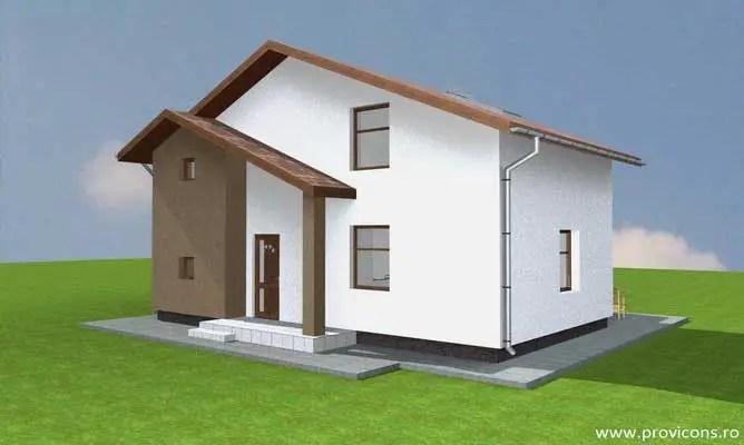 Case mici de 60 de mp - arhitectura dinamica