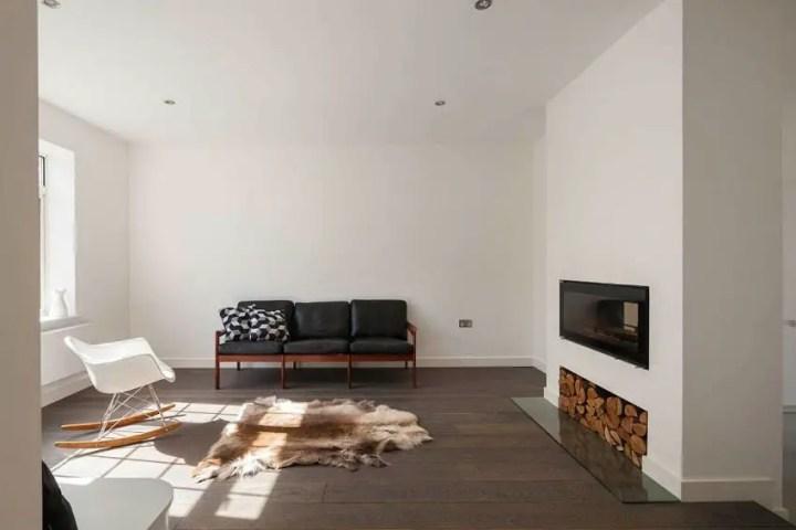 casuta din curte minimalist London home extension 6