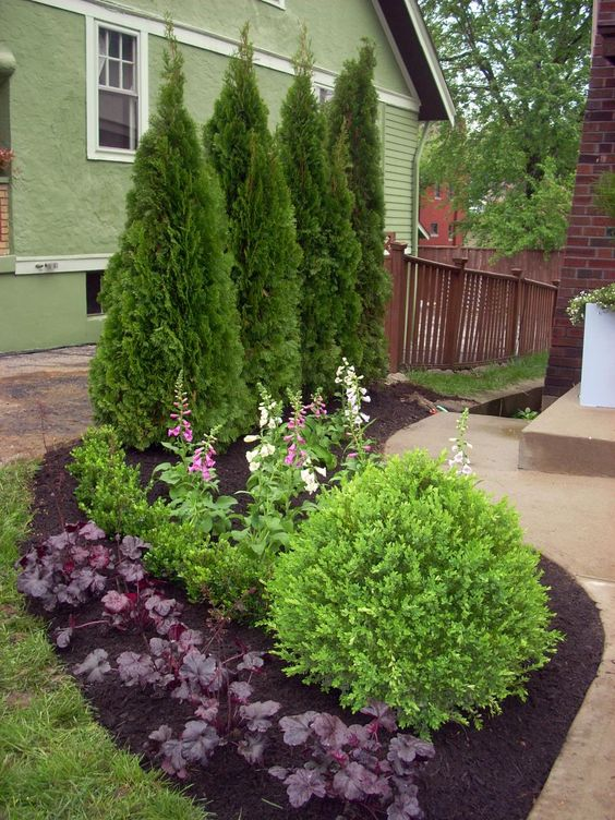gradini amenajate cu conifere evergreen landscaping ideas 9