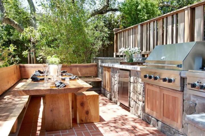 idei pentru bucataria de gradina Garden kitchen ideas 9