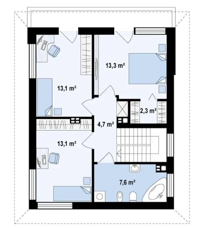 modele de case cu open space open floor house plans 4