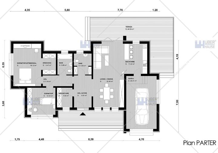 modele de case cu open space open floor house plans 7