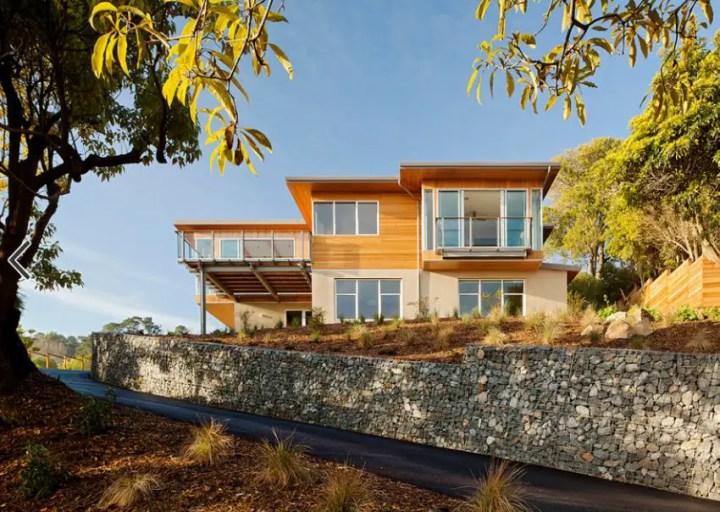 Amenajarea gradinii cu gabioane Gabion garden landscaping ideas 6