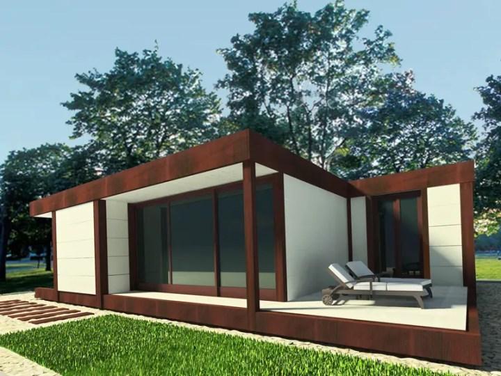 Case din lemn demontabile modular wood homes 2