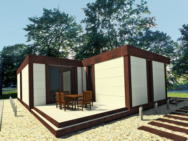 Case din lemn demontabile modular wood homes 3
