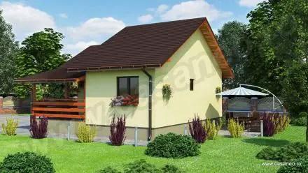 Case din lemn demontabile - spatii mici, dar confortabile