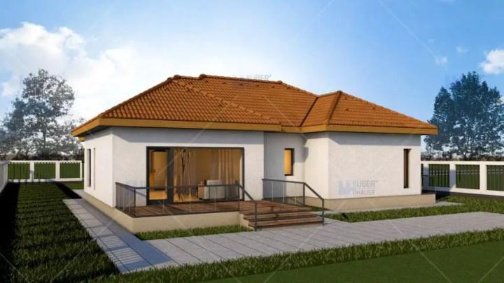 Proiecte de case mici sub 120 de mp Houses under 120 square meters 6