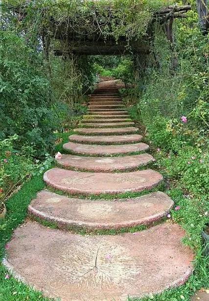 alei de gradina din lemn Garden wooden walkways 20