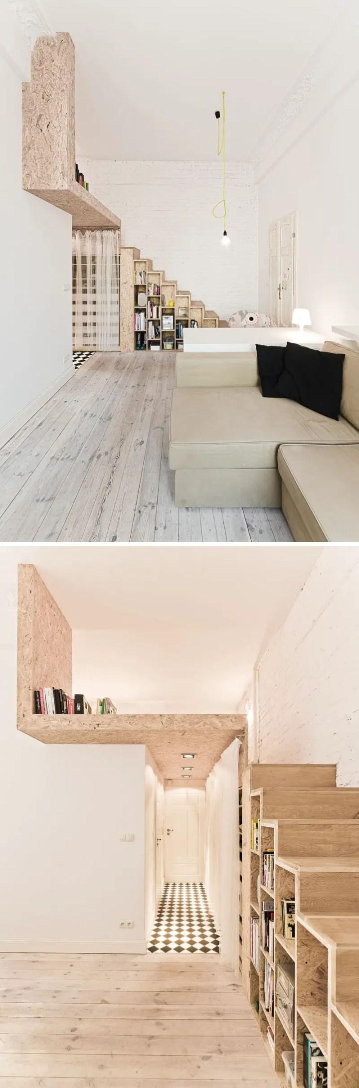 amenajarea unui apartament de 29 de metri patrati Smart design on just 29 square meters 6