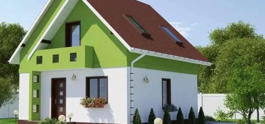 Proiecte de case cu geamuri mari lumina naturala din belsug for Casa la tara ieftina