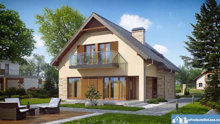 case cu balcoane din sticla Houses with glass balconies 2