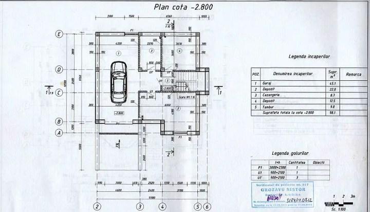 case cu mansarda si garaj subteran Loft houses with underground garage 3