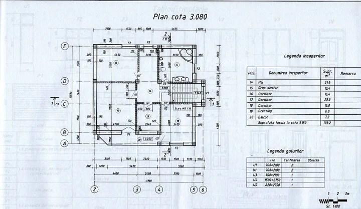 case cu mansarda si garaj subteran Loft houses with underground garage 5