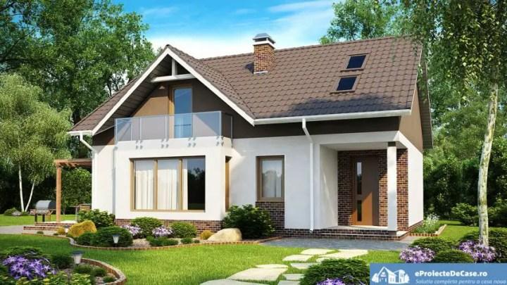 case medii pe doua nivele Medium sized two story house plans 1