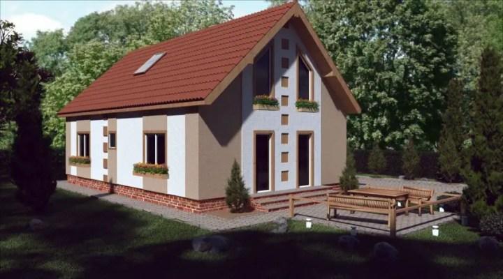 case medii pe doua nivele Medium sized two story house plans 18
